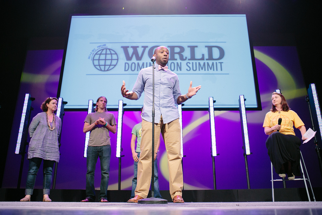 There Are Much Bigger Issues In The World…[My 2 minute speech at WDS]
