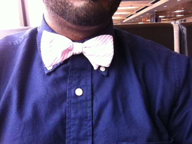 Bow tie for #WDS2012