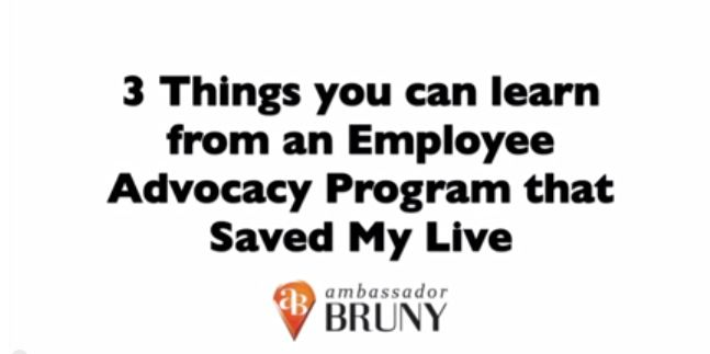3 Things You Can Learn From An Employee Advocacy Program That Saved My Life