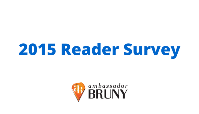 You Can Help By Taking My 2015 Reader Survey