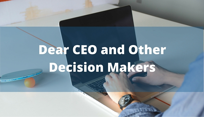 An Open Letter to Decision Makers Focused on Employee Engagement and Employee Advocacy